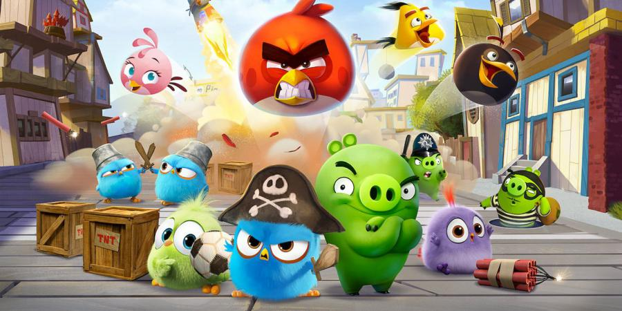 Angry Birds: Summer Madness