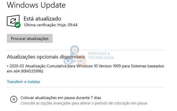 KB4535996 Windows 10