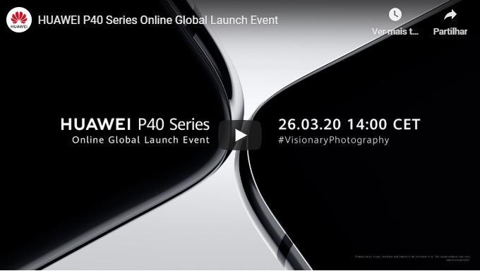 apresentação Huawei P40