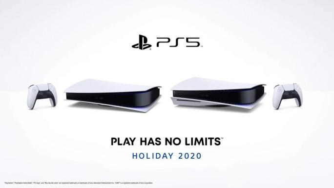 PlayStation 5 na horizontal jogos