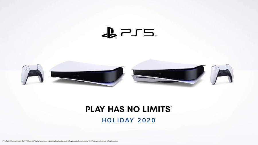 PlayStation 5 na horizontal jogos SSD