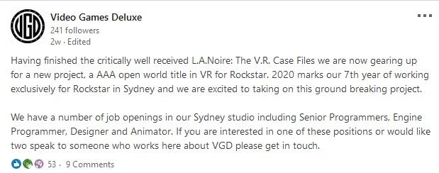 GTA 6 Realidade Virtual
