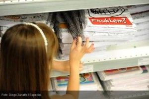 Imposto chega a abocanhar quase metade do preço de produtos de material escolar