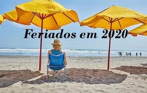 Portaria divulga feriados e pontos facultativos para 2020