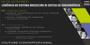 Eventos online nesta quarta feira (2) debatem leniência no sistema de defesa da concorrência — Procuradoria da República em São Paulo