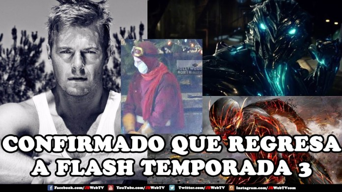 Eddie Thanwe Regresa A #Flash Temporada 3