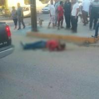 ¡Con ráfagas de disparos fue ejecutado un individuo en la colonia Zacatal de San José del Cabo!