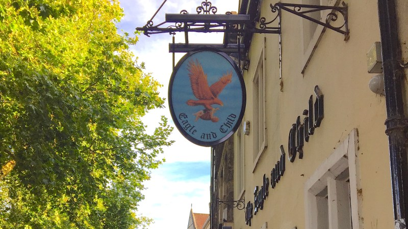 The Eagle & Child, el pub inglés de grandes escritores