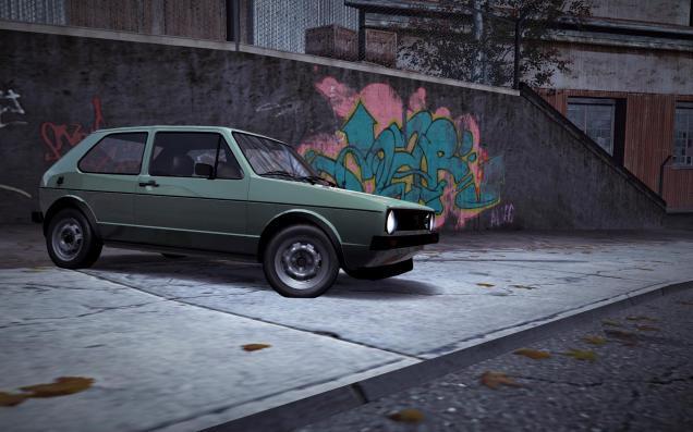 Volkswagen_Golf_MK1_GTI_Green_2