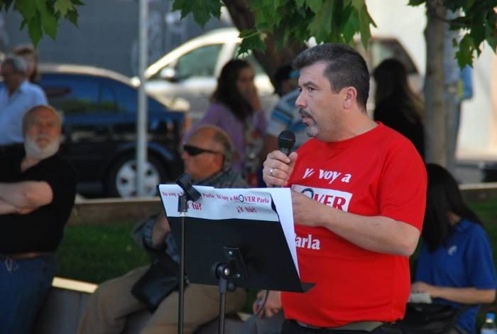 Eugenio Fernández, secretario general y número 4 de MOVER Parla