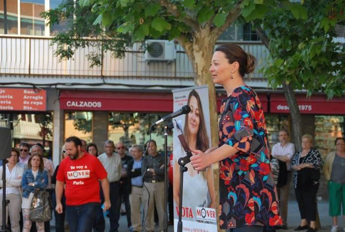 Beatriz Arceredillo, candidata de MOVER Parla
