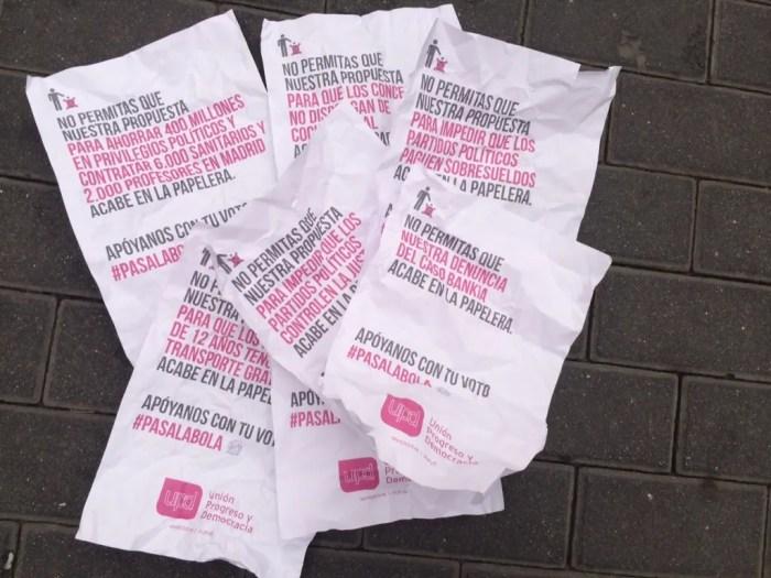 Iniciativa #pasalabola de UPyD