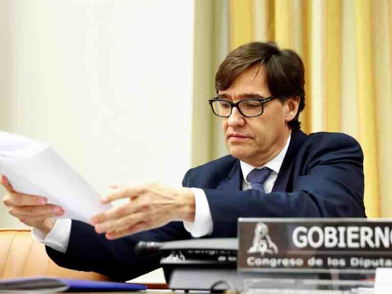 Salvador Illa, Ministro de Sanidad - Foto EP