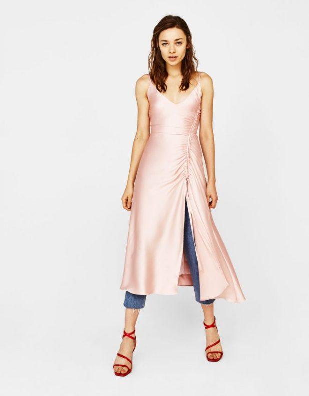 Bershka slip dress (bershka.com - 39 , 99 euros)