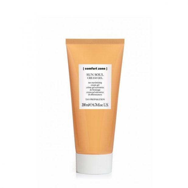 Sun Soul Cream Gel Comfort Zone Tan Maximizer (davines.com - 22 €)