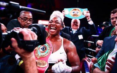 Clarissa Shields Marca de boxeo femenino de crecimiento único