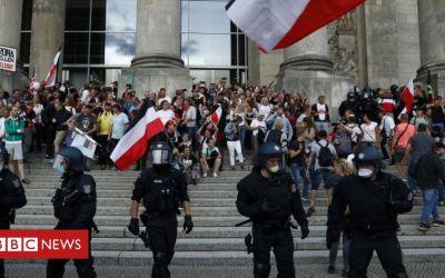 Coronavirus en Alemania: ira tras intentar asaltar el parlamento