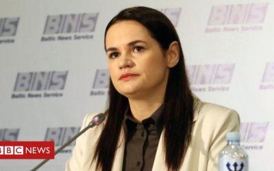 Bielorrusia: Tikhanovskaya insta a la ONU a que intervenga para detener la violencia