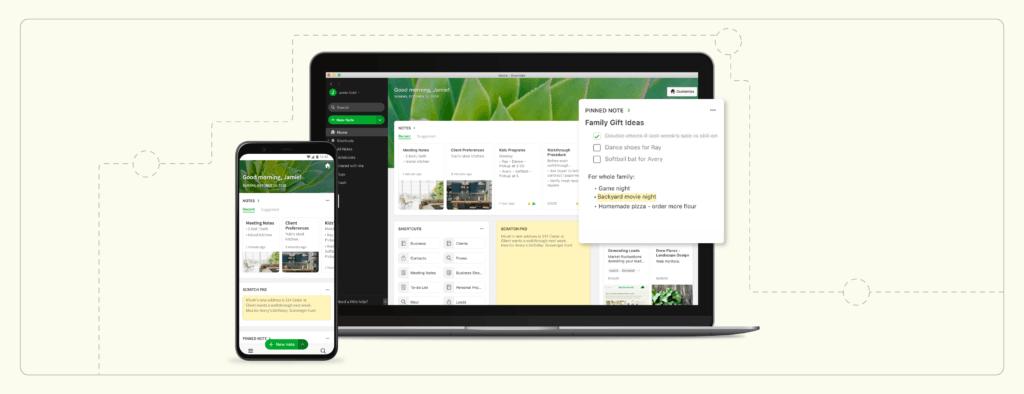 Inicio: Comentarios e información sobre la última función de Evernote