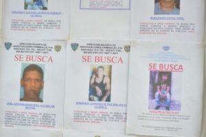 Ocho más buscados tienen prontuario de homicidios