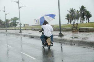 Seguirán las lluvias con ráfagas de viento en el país