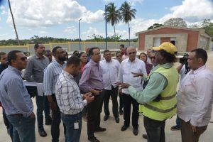 Ministro de Educación, , lleva soluciones puntuales a centros educativos de la provincia Hermanas Mirabal