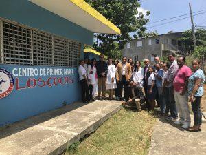 El MAP lleva su labor de apoyo a la gestión de salud hasta el Pico Diego de Ocampo