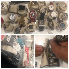 DNCD y MP incautan un millón de pesos y decenas de relojes de lujos en Punta Cana