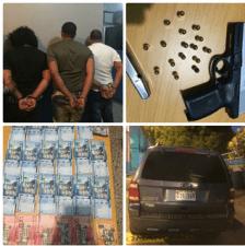 Policía Nacional apresa tres hombres integraban grupo de malhechores  realizó delito en residencia en La Otra  Banda