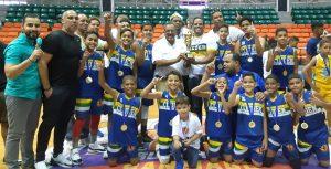 CLUDEN Y Rubén Espino campeones torneo Mini Baloncesto ABASACA 2019