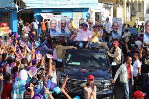 PLD moviliza más de 250 mil personas en Santiago