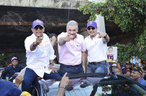 PLD Santiago realizará 156 mano a mano simultáneos el miércoles y el jueves gran marcha caravana del triunfo.