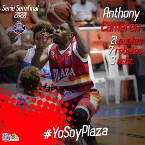 Plaza se sacude al vencer a CDP en la semifinal del baloncesto de Santiago
