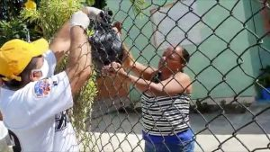 Nuevo alcalde de Sabana Iglesia realiza jornada de desinfección y entrega de alimentos