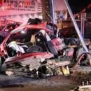 Mueren dos jóvenes en accidente por exceso de velocidad y alcohol; sobreviven dos