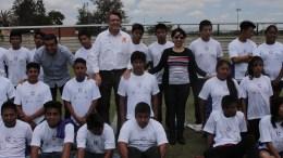 Ayuntamiento entregó uniformes a beneficiados con Fútbol por la Inclusión