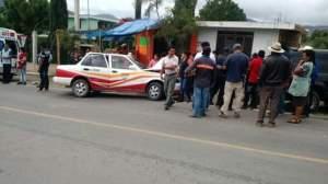 los asaltantes chocaron el vehiculo que querían robarse