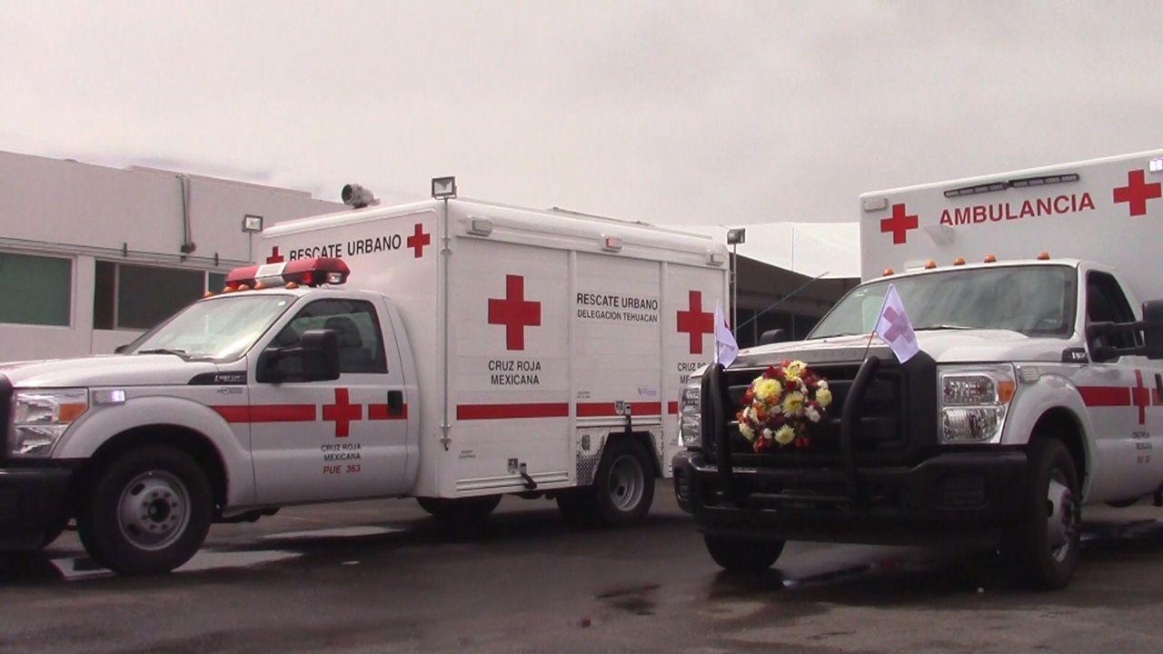 Recibe Cruz Roja dos unidades con tecnología de punta