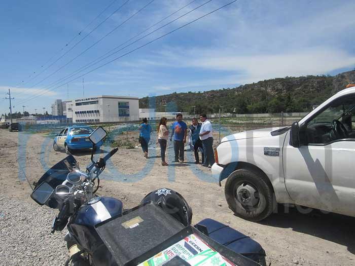 Arrollan a motociclista en el Hospital de la Mujer