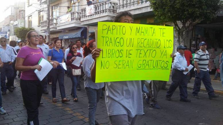 Maestros Contra La Reforma Educativa