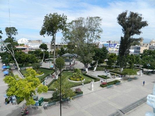 Carecen de escrituras parques de la ciudad