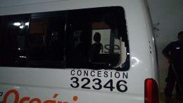 Conductor de colectiva foránea frustró asalto en coxcatlan