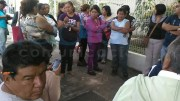 Nueva protesta de padres de familia en el Centro Escolar