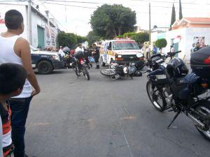 Elemento de seguridad público fue trasladado al Hospital Municipal
