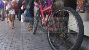 Bicicleta atropellan a menor