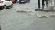Lluvia afectó edificios públicos, calles y viviendas en diferentes zonas de la ciudad