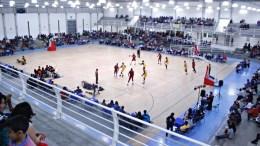 Exhibición baloncesto semiprofesional