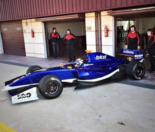 El capitalino Diego Menchaca en Fortec Motorsport para 2017.