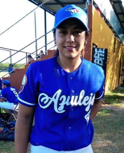 Primera mujer profesional del béisbol en México