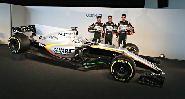 Celis Jr. piloto de pruebas en Sahara Force India F1 para el 2017.